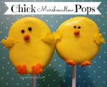 Yellow Chick Marshmallow Pops by SweetSimpleStuff