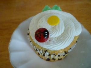 Ladybug Cupcakes ...