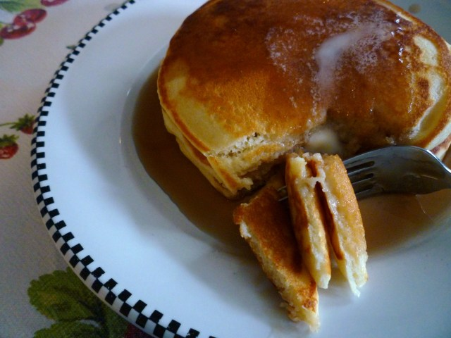 Pancakes that will melt in your mouth
