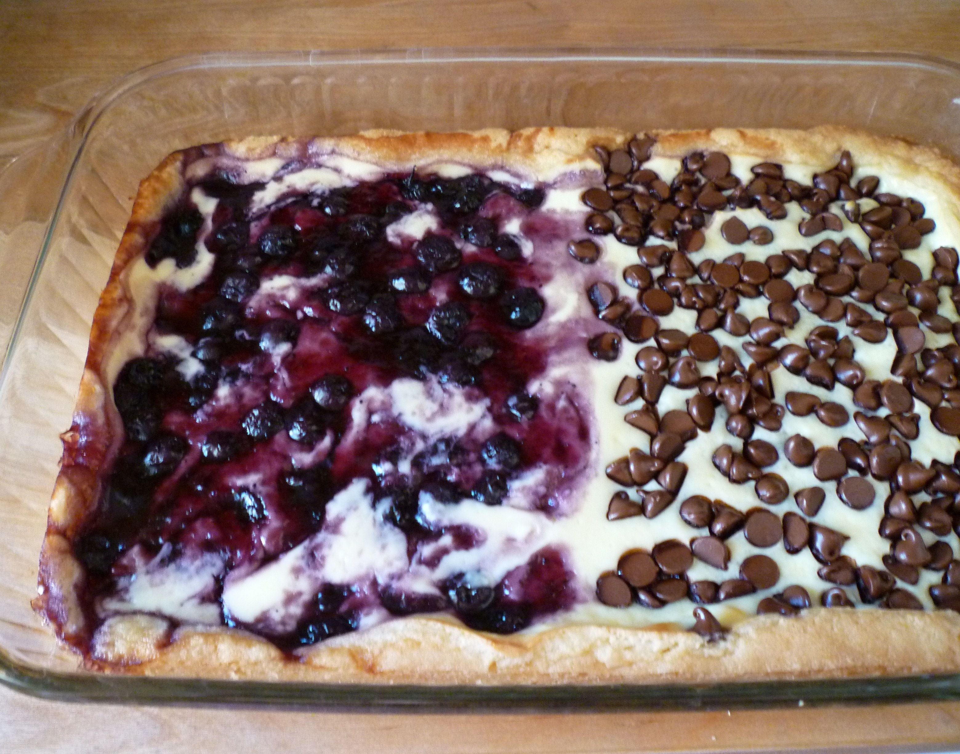 The Original Recipe Called For Blueberry Pie Filling Only I Like To Add A Little Lemon Zest In The Cream Cheese I Am Giving You The Recipe For The Way I
