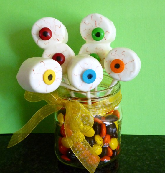 marshmallow eyeballs