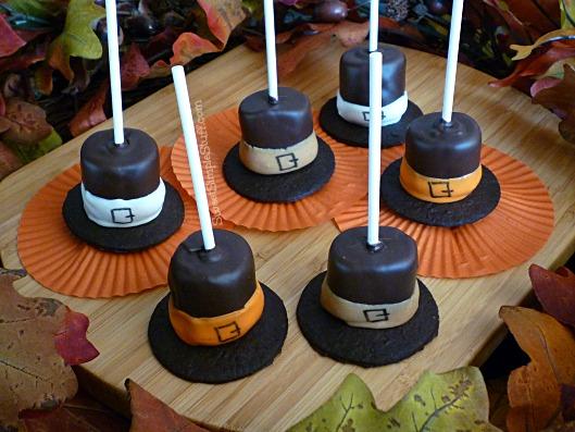 0081 marshmallow pilgrim hats