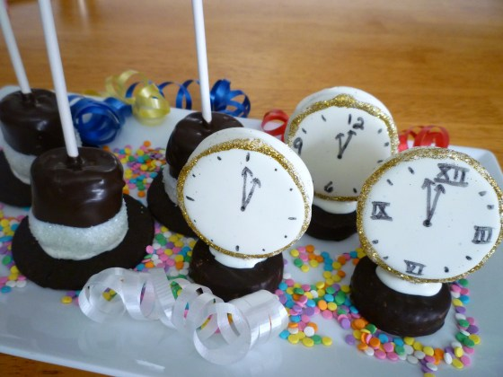 sugar top hats clocks