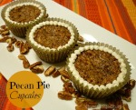 Pecan Pie Cupcakes by SweetSimpleStuff