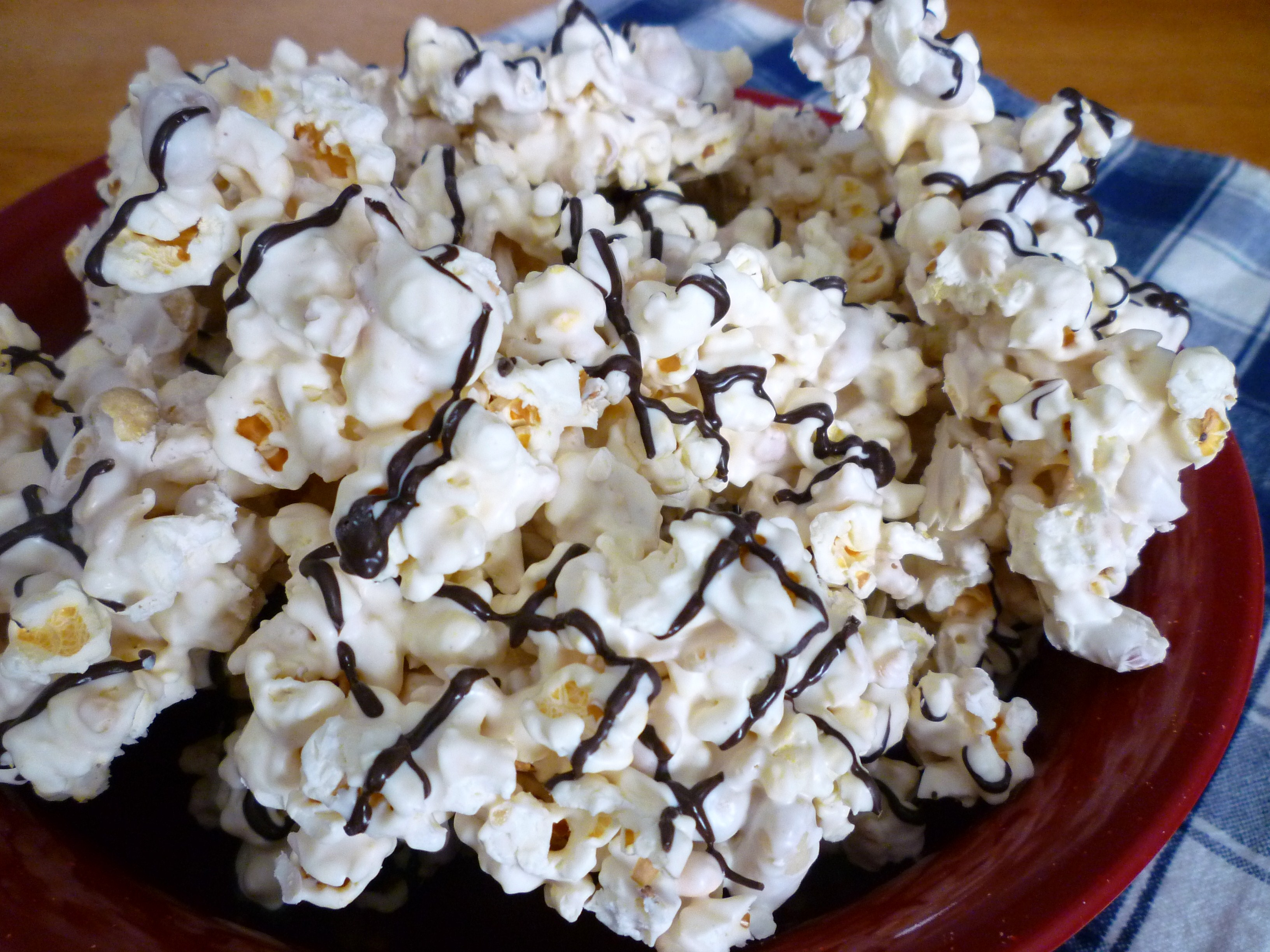 Chocolate Popcorn Party Mix | SWEET SIMPLE STUFF