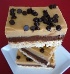 Double Decker Fudge with a Krispie Crust