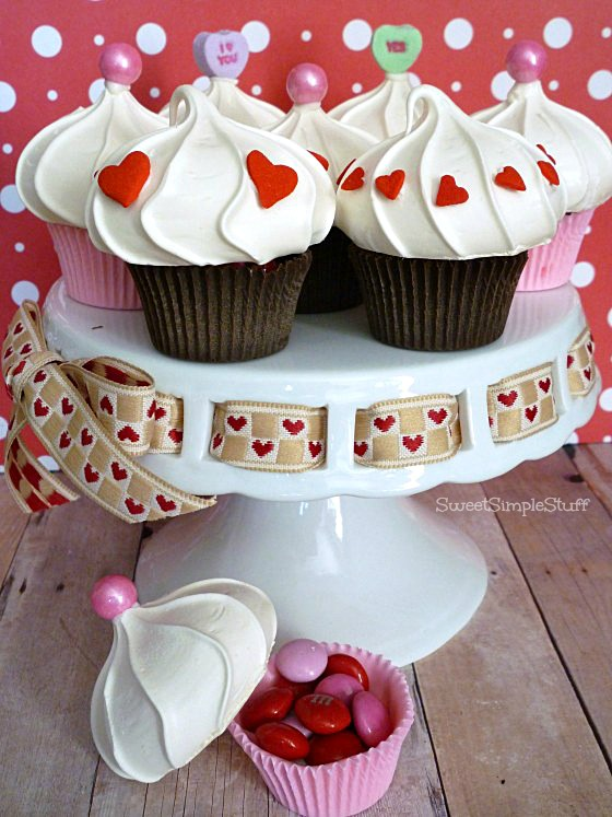 Cupcake Box that's edible - SweetSimpleStuff