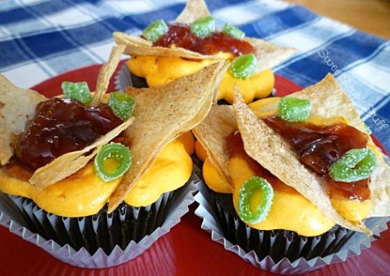 nacho cupcake - SweetSimpleStuff