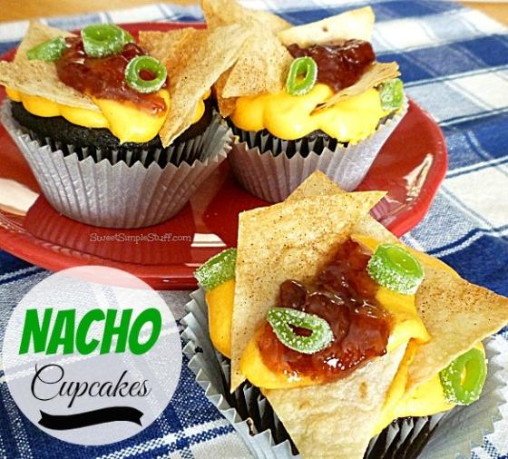 Nacho Cupcakes - SweetSimpleStuff