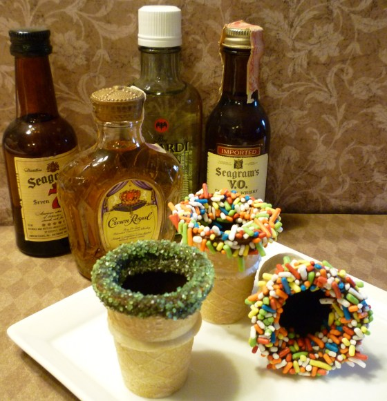 edible shot glass