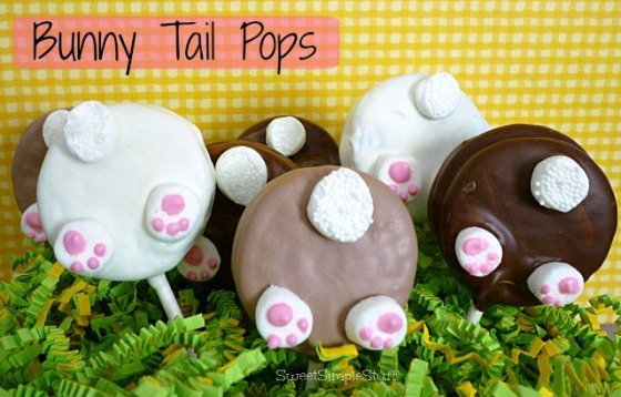Bunny Tail Pops by SweetSimpleStuff