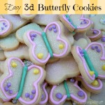 Easy 3D Butterfly Cookies by SweetSimpleStuff