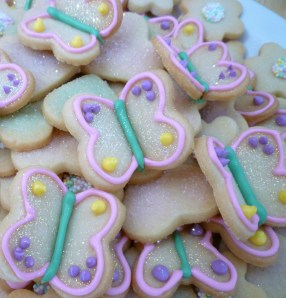 3d butterfly cookies