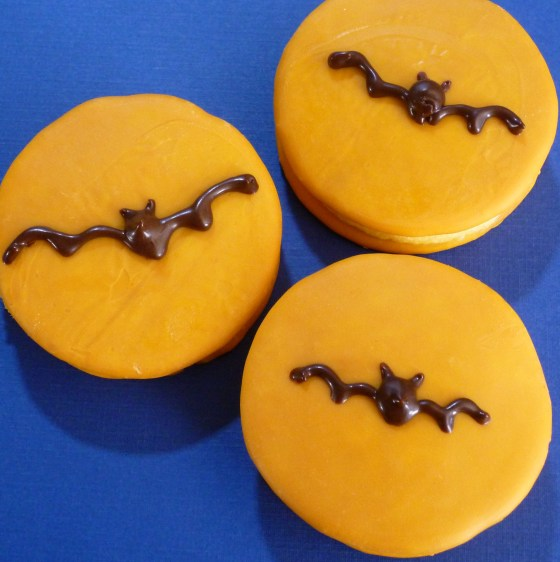 Bat moon pies