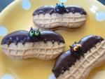 Nutter Butter bat cookies