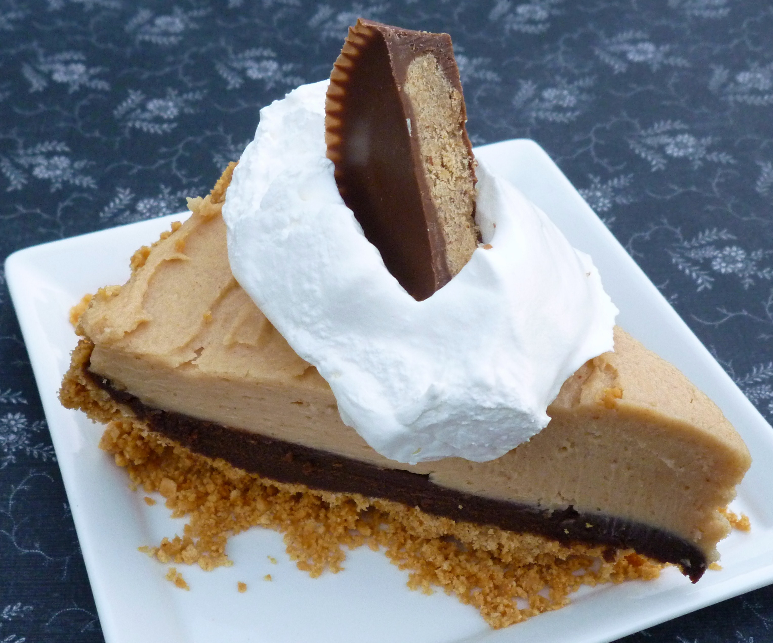 Inside Out Peanut Butter Cup Pie … translation – peanut butter ...