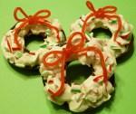 Peppermint wreaths