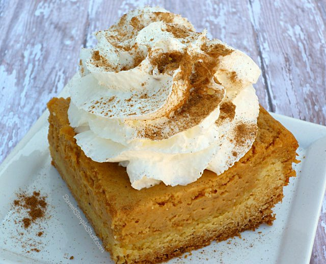 Ooey Gooey Pumpkin Cake | SWEET SIMPLE STUFF