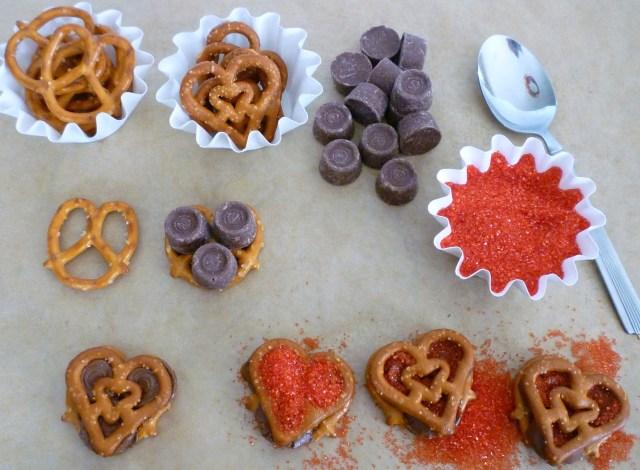 Heartzel rolo pretzel