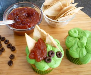 sweet guacamole chips