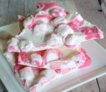 pretty pink peppermint bark