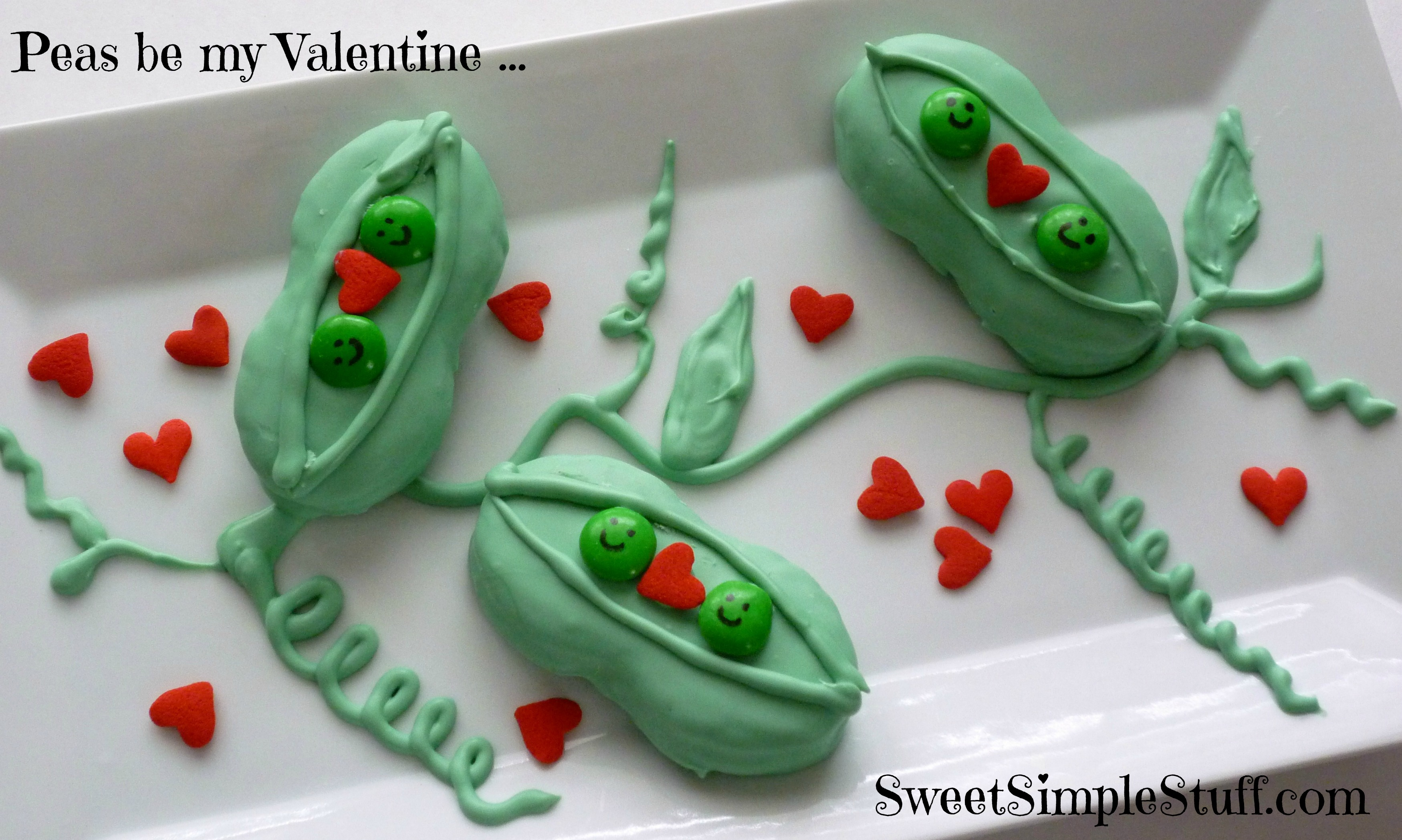 Nutter butter peas in a pod edible crafts for Peas in a pod craft