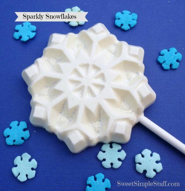 Sparkly Snowflakes