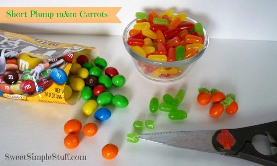 m&m carrots
