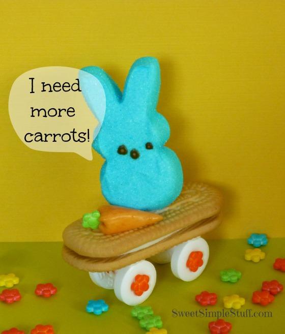 Peep on cookie skateboard
