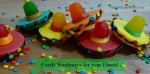 Candy Sombreros for your fiesta