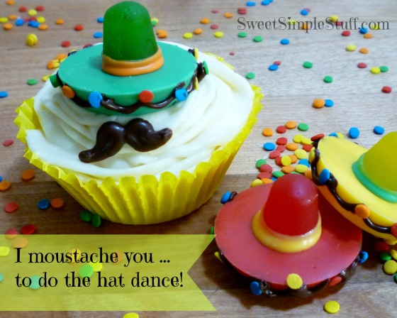 I moustache you to do the hat dance