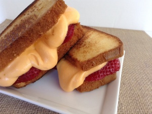 Grilled cheese dessert