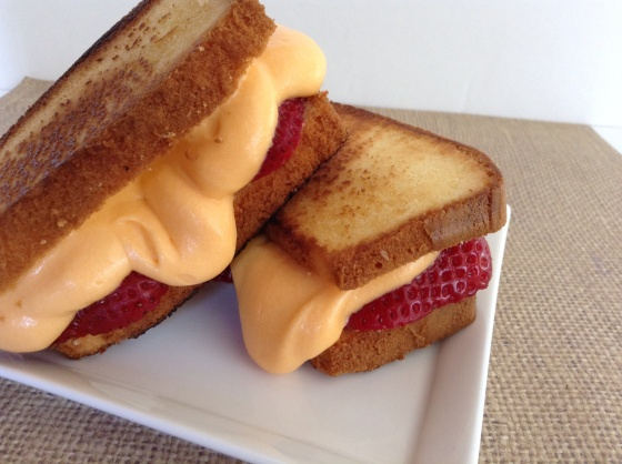 Grilled cheese for dessert
