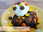 Polka Dot Brownies