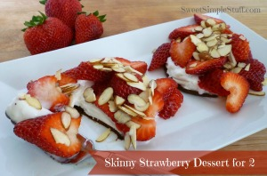 skinny strawberry dessert