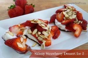 skinny strawberry dessert