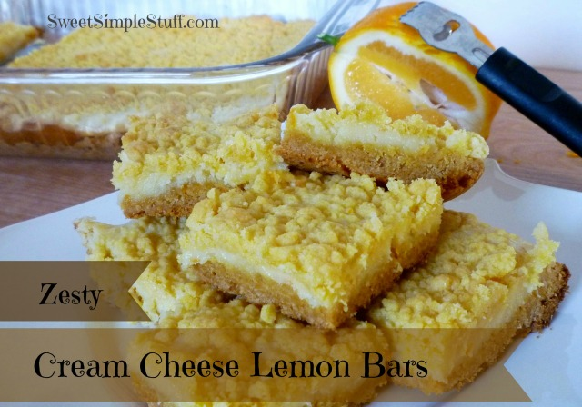 Zesty Cream Cheese Lemon Bars