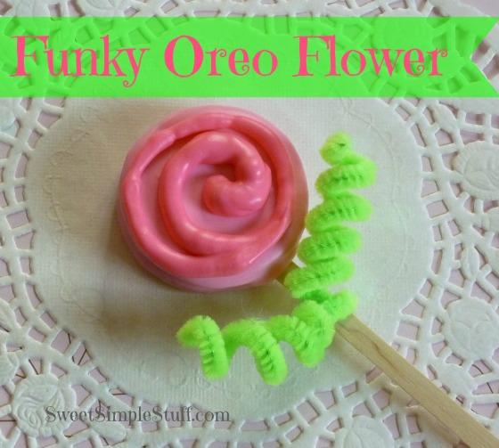 funky oreo flower