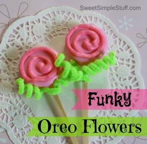Funky Oreo Flowers