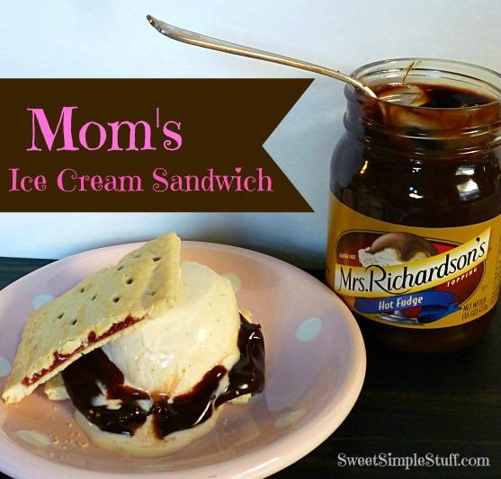 Mom's Ice Cream Sandwich