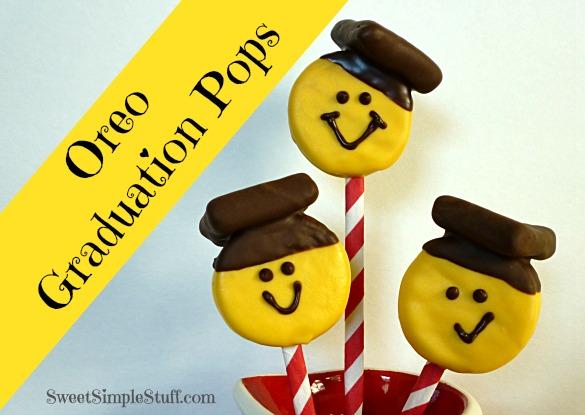 Oreo Graduation Pops