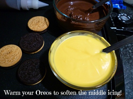 warm your Oreos
