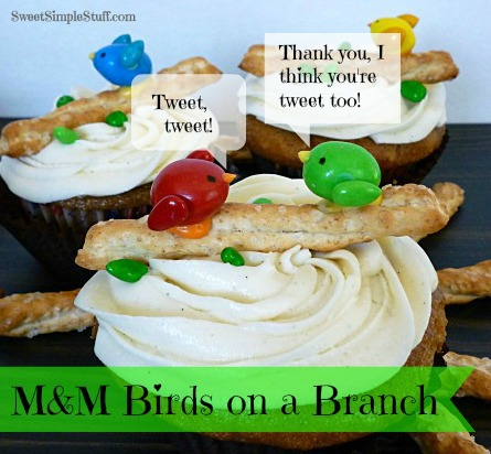 M&M Birds on a Branch