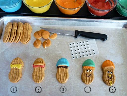 Nutter Butter Boys Instructions