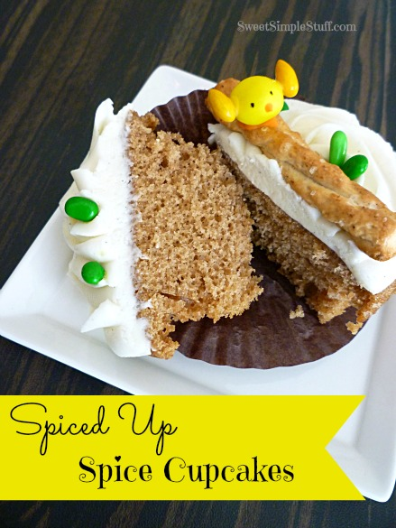 Spiced Up Spice Cupcakes