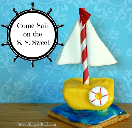 Candy Sailboat