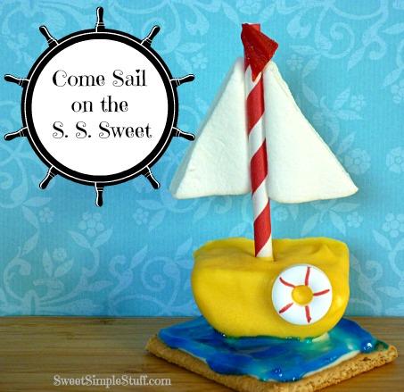Candy Sailboat