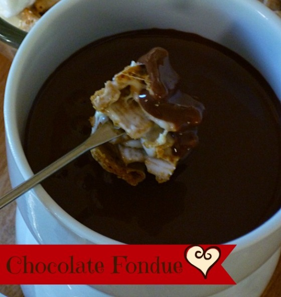 Chocolate Fondue Love