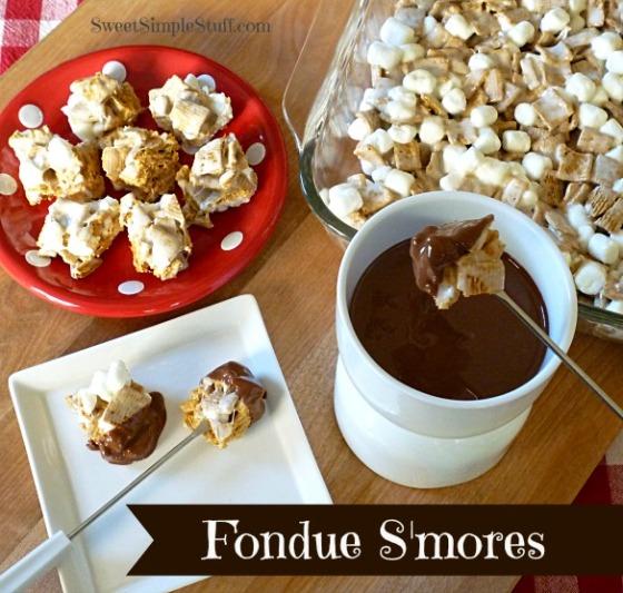 Fondue S'mores