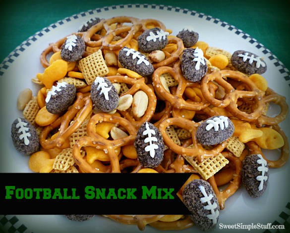 Super Bowl snack mix
